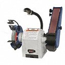 Grainger Choice Product Combination Belt and Bench Grinder, Speed Setting Single Speed, For Max. Wheel Dia. 6 in - Available in (6 in  & 8 in Max. Wheel Dia.) - Available on credit