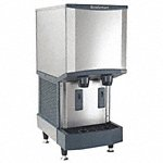 Countertop Ice Dispenser, Ice Maker, Water Dispenser, Ice Production per Day: 288 lb, 16 9/16 in W X - Also Available with Storage/non Storage for Ice, Water Dispensers in(25lb - 3380lb Ice Production per Day, 9lb - 250lb Storage Capacity - Available on credit