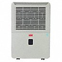 Dehumidifier, 50 pt Capacity/24 Hrs. @ 60% RH, 12.7 pt Bucket Capacity, 23 1/4 in Height - Available in(Air Cleaner Filters, Humidifier and Dehumidifier Accessories, Industrial and Commercial Dehumidifiers, Jobsite and Restoration Dehumidifiers, Office and Residential Dehumidifiers, Whole House Dehumidifiers)