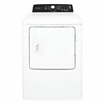 Gas Dryer, 4.0 cu ft, White, Width 27 in, Height 42 7/8 in, Depth 30 in - Also available in(Electric & Gas, Silver & White, 38 in - 85 in Height, 29 in - 31 1/2 in Depth) - Available on credit