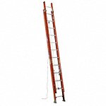 16 ft Fiberglass Extension Ladder, 225 lb Load Capacity, 27.0 lb Net Weight  - Available in(Industry Size  - 16 ft - 48 ft, Extension 12 ft - 48 ft)