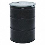 55 gal Black Steel Open Head Transport Drum - Available in(4.5 gal - 600 gal-Overpack Drum, Salvage Drum, Transport Drum, Vacuum Drum, Waste Receptacle Drum)