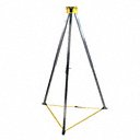 Confined Space Entry & Retrieval-Tripod - Available for(Entry Orientation-Horizontal, Vertical) - (System includes-Harness, Mounting Bracket For Winch/SRL, Mounting Bracket for Winch/SRL, Rescuer, SRL, Winch